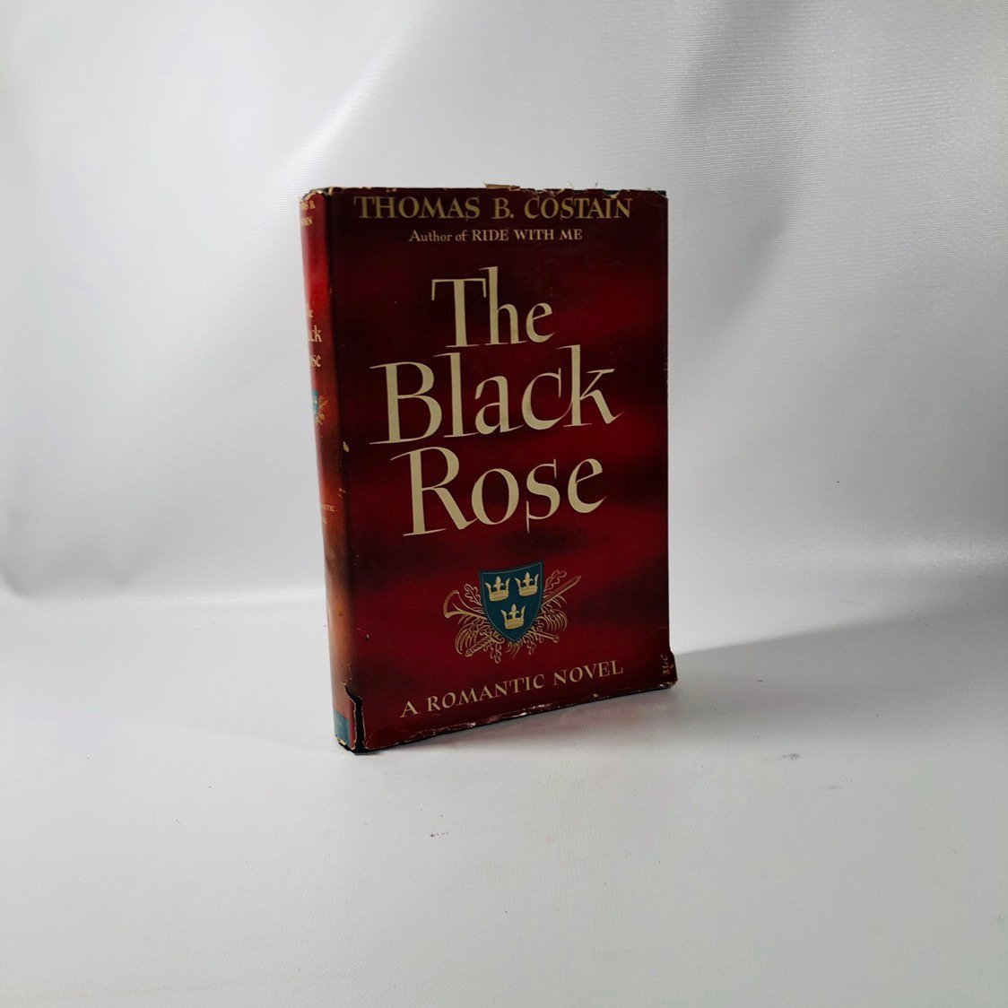 The Black Rose by Thomas B. Costain 1945 A First Edition Romantic Novel
