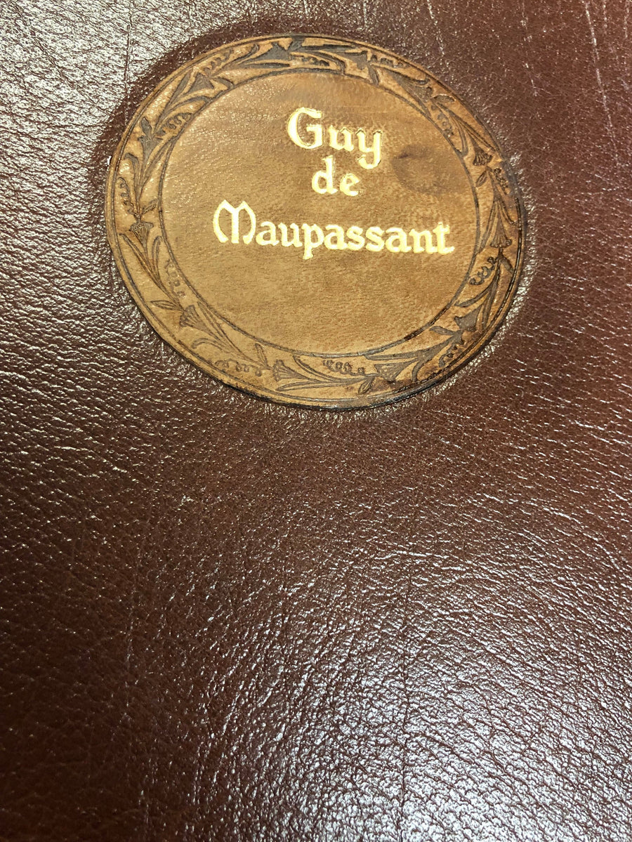 The Complete Short Stories of Guy de Maupassant 1903 An Antique Book