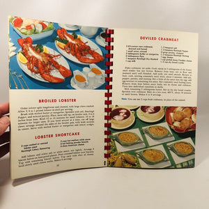 Rawleigh's Picture Treasury of Good Cooking 1959 A Vintage Spiral Bound Cookbook