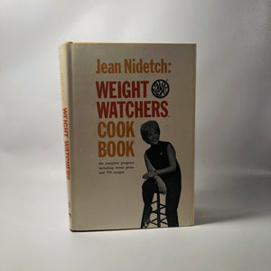 Weight Watchers Cook Book byJean Nidetch 1966 A Vintage Cookbook
