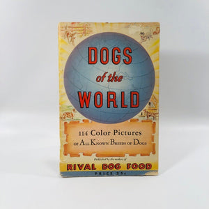 Dogs of the World 114 Color Pictures of All Known Breeds Dogs Published by Rival Dog Food 1940