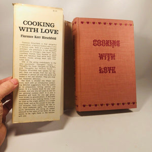 Cooking with Love by Florence Kerr Hirschfeld 1965 A Vintage Cookbook