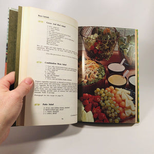 Salads Favorite Recipes of America includes Appetizers 1968 Volume 3 in the Vintage Cookbook Series
