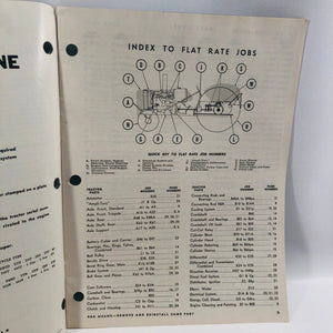 I&T Shop Service Flat Rate Manual No MM-12 Minneapolis-Moline 1962