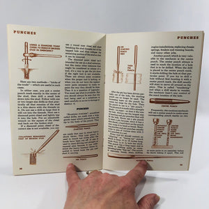 ABC's of Hand Tools A Vintage Pamphlet  by the General Motors Corporation Drawings by Disney Productions 1945
