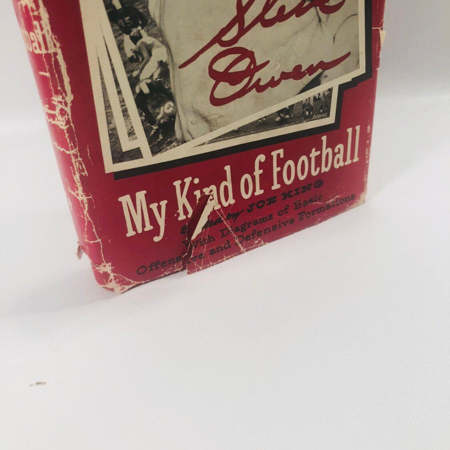 My Kind of Football by Steve Owen edited by Jo King 1952 A Vintage Sports Book