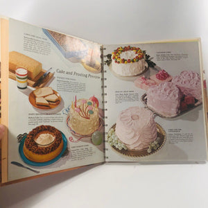 Betty Crocker Cake and Frosting Cookbook First Edition 1966 A Vintage Cookbook