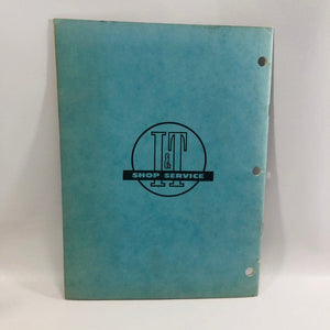 Vintage I&T Shop Service Flat Rate Manual No O-15 Oliver 1962