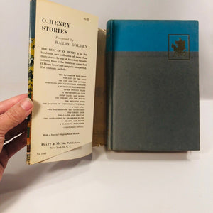 O Henry  Stories with an Introduction by Harry Golden A 1962 Vintage Book