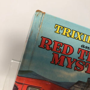 Vintage Trixie Belden and the Red Trailer Mystery by Julie Cambell 1954 Book Two in the Series