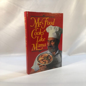 Mr. Food Cooks Like Mamma but Easier by Art Ginsburg 1992 First Edition