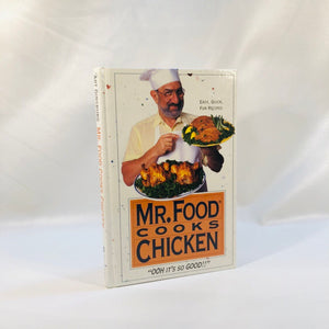 Mr. Food Cooks Chicken by Art Ginsburg 1993 First Edition
