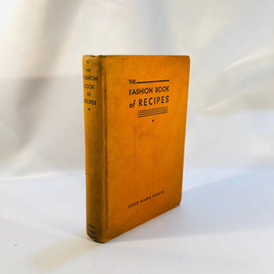 The Fashion Book of Recipes by Jessie Marie DeBoth 1934
