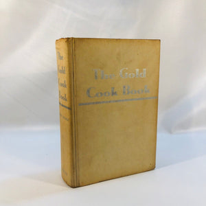 The Gold Cookbook by Master Chief Louis De Gouy 1960