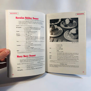 100 Prize Winning Recipes from Pillsbury's 3rd National Baking Contest Pamphlet 1952 First Edition
