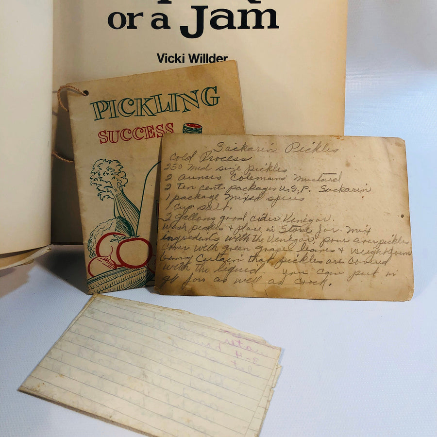 In a Pickle or a Jam Part of the Creative Home Library by Vicki Wilder 1970