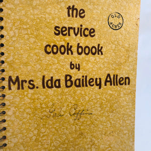 The Service Cookbook Number Two by Ida Bailey Allen 1953