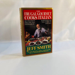 The Frugal Gourmet Cooks Italian by Jeff Smith 1993 First Edition