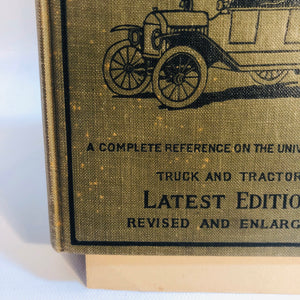 The Model T Ford Car by Victor W. Paige 1924