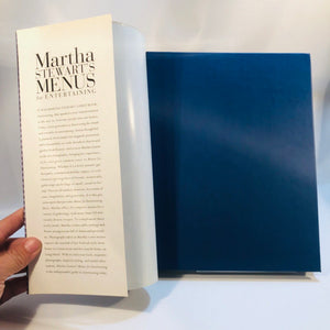 Martha Stewart Menus for Entertaining Photos by Dana Gallagher 1994