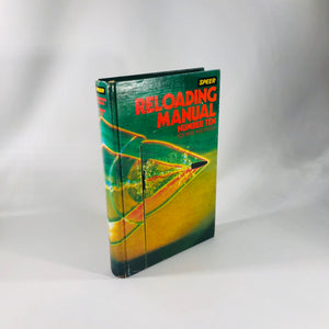 Reloading Manual Number Ten for Rifle and Pistol by Speer Omark Industries 1979