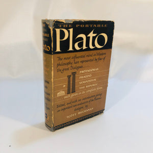 The Portable Plato by Scott Buchanan 1947