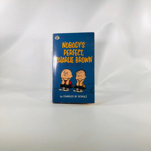 Nobody's Perfect Charlie Brown by Charles M. Schulz 1969 Comic Book
