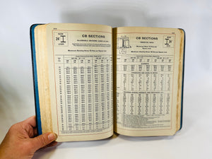 Carnegie Pocket Companion Information and Tables for Engineers by United Steel Corporation 1934