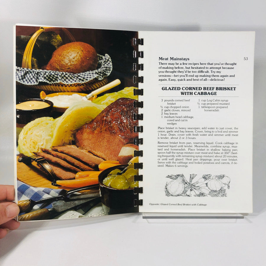 Cora's Country Cookbook Published by General Foods in 1971