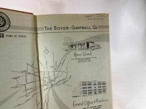 Boyer-Campbell Company Detroit Catalog No. 50 1956