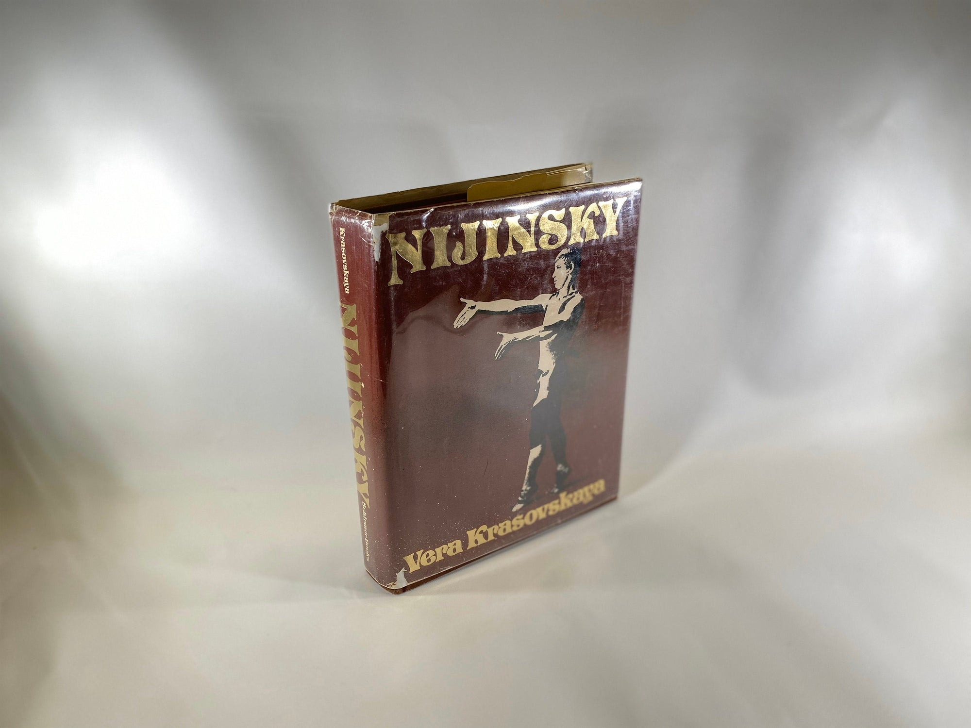 Nijinsky by Vera Krasovskaya 1979 First Edition English Version