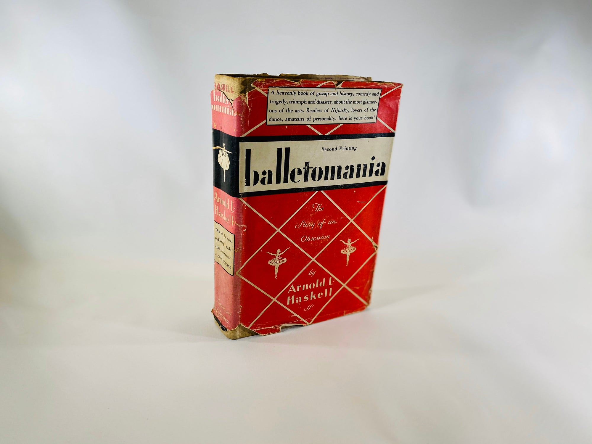 Balletomania the Story of Obsession by Arnold Haskell 1934