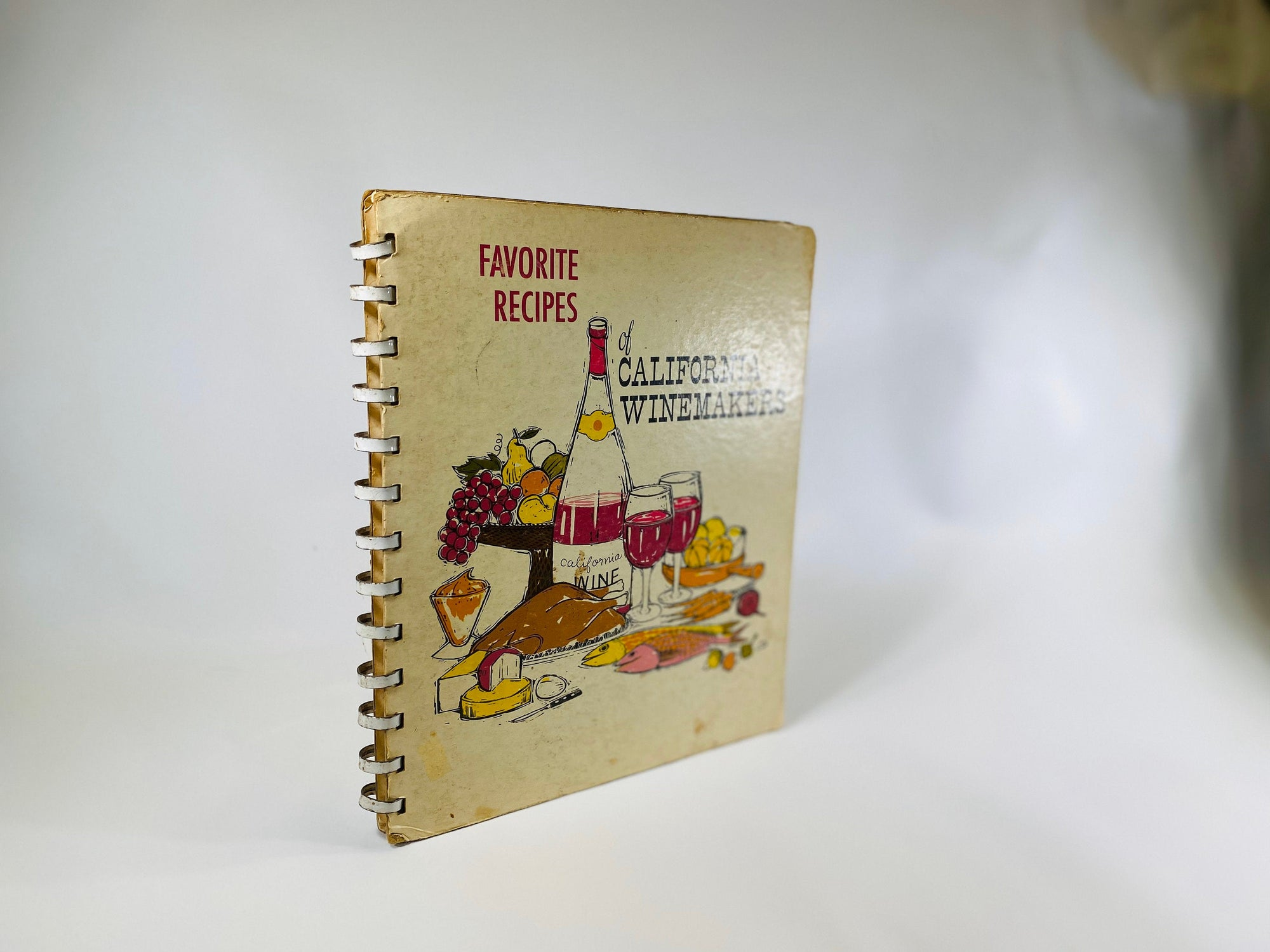 Favorite Recipes of California Winemakers by The California Wine Advisory Board 1963