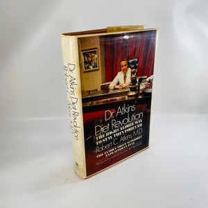 Dr. Atkins Diet Revolution by Robert Atkins 1972-Reading Vintage