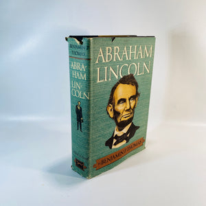 Abraham Lincoln A Biography by Benjamin P. Thomas 1954-Reading Vintage