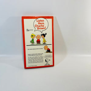 You're My Hero Charlie Brown by Charles M. Schulz 1961-Reading Vintage