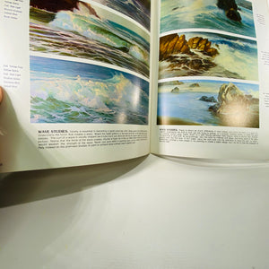 How Vernon Kerr Paints Seascapes & Landscapes 1970-Reading Vintage