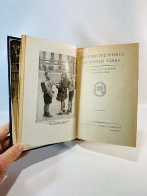 Around the World in Eleven Years by Patience Richard and John Abbe 1936