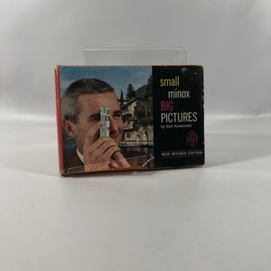 Small Minox Big Pictures by Rolf Kasemeir 1964 A Vintage Photography Book