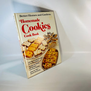 Homemade Cookies Cookbook Better Homes & Gardens 1975-Reading Vintage