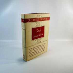 Good Intentions by Ogden Nash 1942-Reading Vintage