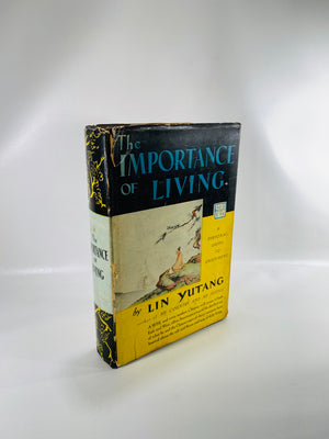 The Importance of Living by Lin Yutang 1937-Reading Vintage