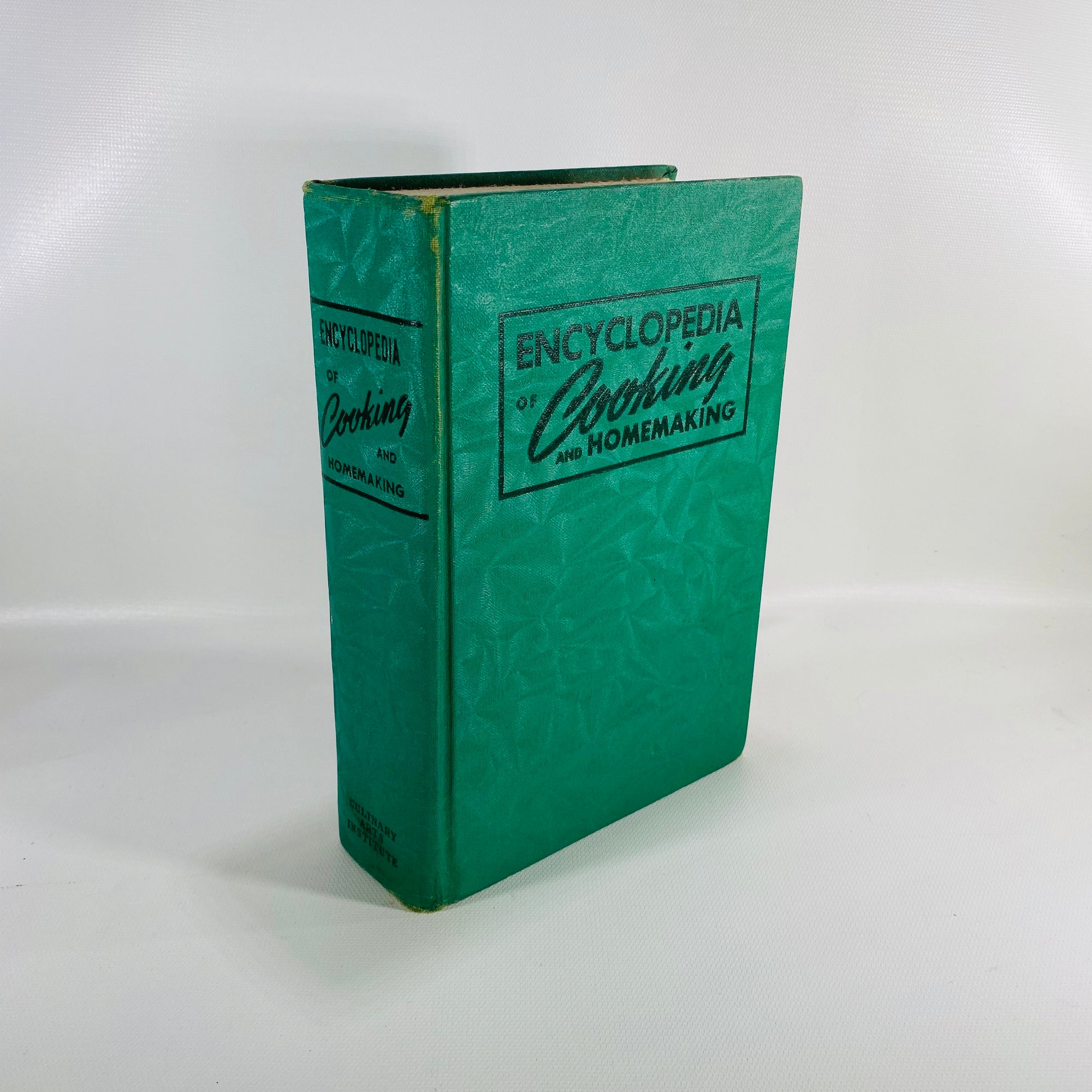 Encyclopedia of Cooking & Homemaking by 1940-Reading Vintage