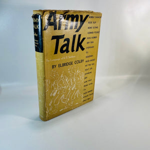 Army Talk by Elbridge Colby 1942