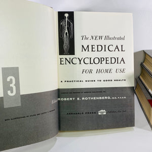 New Illustrated Medical Encyclopedia for Home Use 1970-Reading Vintage