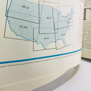 National Geographic Atlas of the Fifty United States 1960