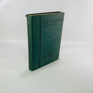 The Admirable Crichton a comedy by J.M. Barrie 1928-Reading Vintage