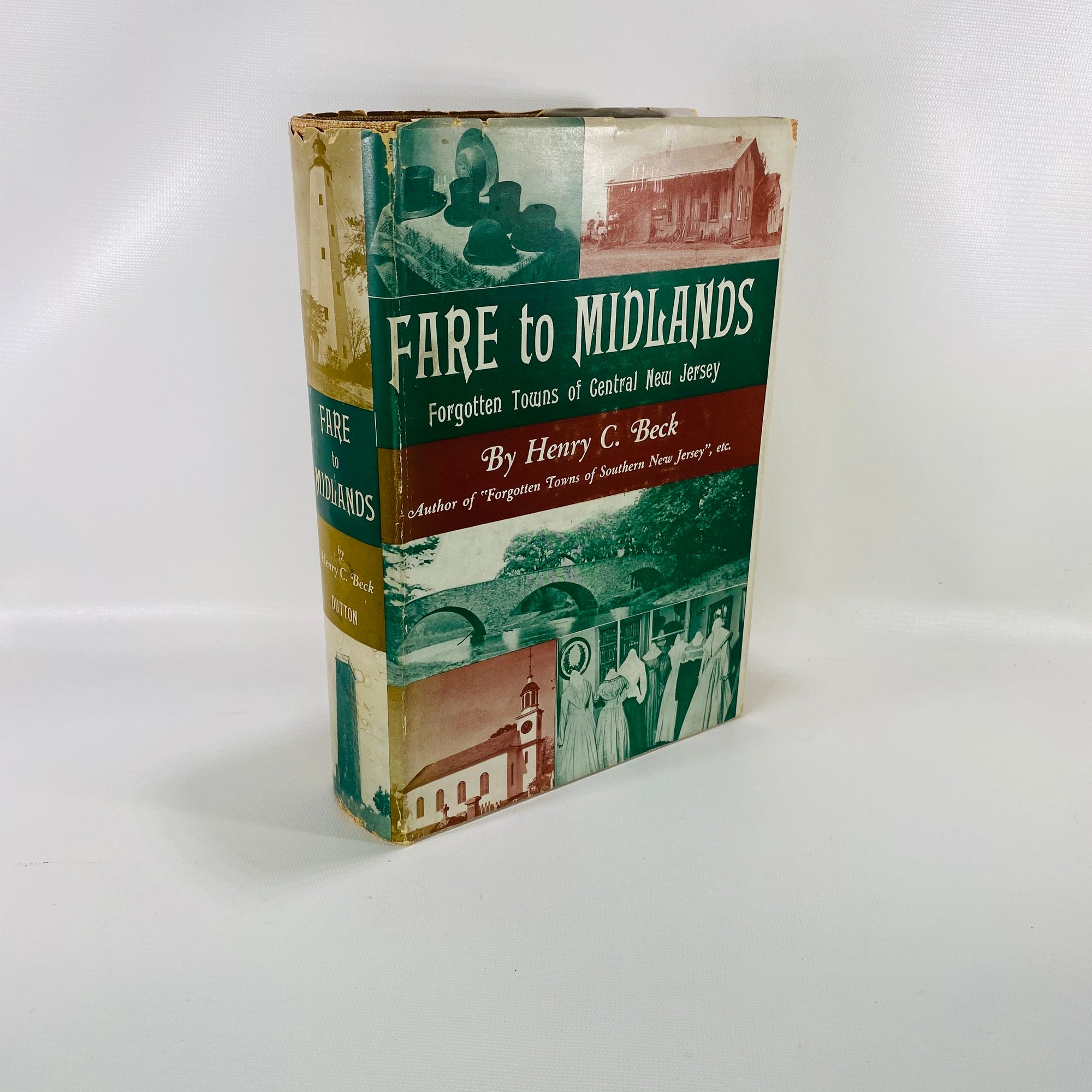 Fare to Midlands Forgotten Towns of New Jersey by Henry Beck 1939-reading vintage