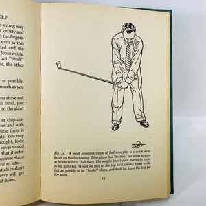 The Nine Bad Shots of Golf by Jim Dante 1947-Reading Vintage