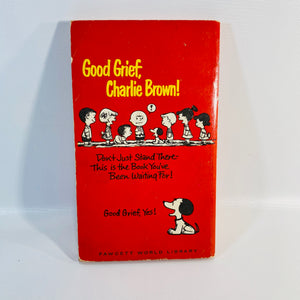 Good Grief Charlie Brown! by Charles Schulz 1966-Reading Vintage